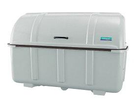 カイスイマレン ジャンボステーションJ1500K(固定足)【容量1500L 45Lゴミ袋33個相当 約22世帯 大型ゴミ箱 ゴミステーション FRP製 固定足 グレー】