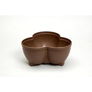 連結鉢タワーポット チョコブラウン No.583【鉢を積み重ねてストロベリーポットのようにできる植木鉢】