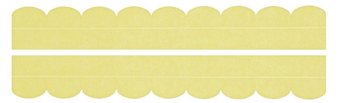 【送料無料】汚れ防止テープ おくだけ吸着 便器すきまテープ イエロー OK-95【便器と床のすきま汚れを防止】
