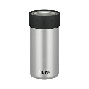 保冷缶ホルダー シルバー(SL) 500ml缶用 JCB-500【THERMOS 缶ビール・缶ジュースの冷たさをキープ】