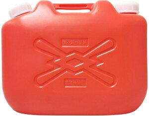 灯油缶 赤 10L ポリタンク【灯油用ポリタンク】