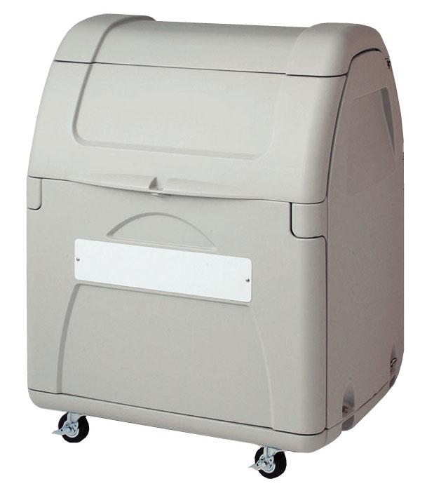 セキスイ ダストボックス#330 組立式(キャスター付き) SDB330AH【容量330L 45Lゴミ袋7個相当 約4世帯 大型ゴミ箱 ゴミステーション プラスチック製 キャスター付き ライトグレー】