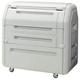セキスイ ダストボックス#700(キャスター付き) SDB700H【容量650L 45Lゴミ袋15個相当 約10世帯 大型ゴミ箱 ゴミステーション プラスチック製 キャスター付き ライトグレー】