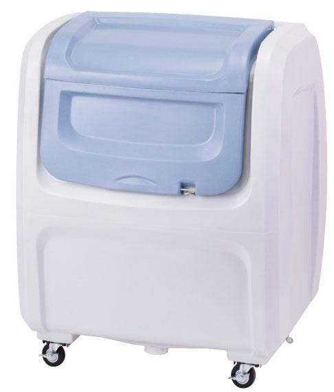 セキスイ ダストボックスDX#500(キャスター付き) グレー DX5H【容量500L 45Lゴミ袋12個相当 約8世帯 大型ゴミ箱 ゴミステーション プラスチック製 キャスター付き グレー】