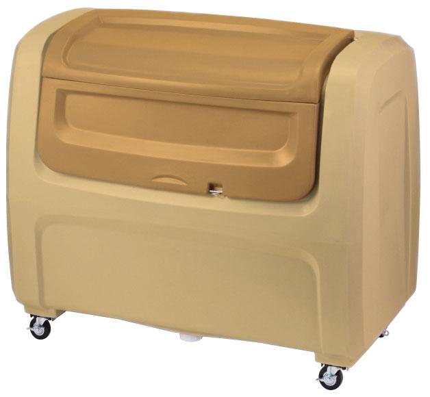 セキスイ ダストボックスDX#800(キャスター付き) ベージュ DX8H【容量800L 45Lゴミ袋20個相当 約13世帯 大型ゴミ箱 ゴミステーション プラスチック製 キャスター付き ベージュ】