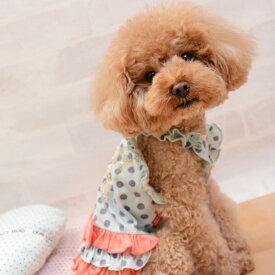 CRAZYBOO / クレイジーブードット柄フリルキャミソールXS / L / XL / DS / DM / DLサイズ犬の服 / 犬服 / ドッグウェア