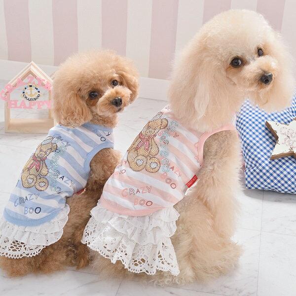 セーラーベア タンクトップXS / S / M / LサイズCRAZYBOO / クレイジーブー犬服 / 犬の服/ ドッグウェア