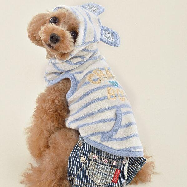 くま耳 パイル地 パーカXL / XXL / DS / DMサイズCRAZYBOO / クレイジーブー犬服 / 犬の服/ ドッグウェア