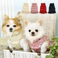 CRAZYBOO/クレイジーブーCBウォッシャブルフリルコートXS/S/M/Lサイズゴールド/ピンク/レッド/ネイビー犬服/犬の服/ドッグウェアあったか秋冬コレクション小型犬