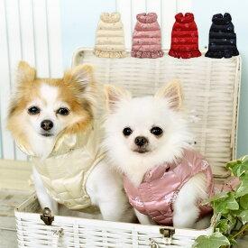 CRAZYBOO / クレイジーブーCBウォッシャブル フリルコートXS / S / M / Lサイズゴールド / ピンク / レッド / ネイビー犬服 / 犬の服/ ドッグウェアあったか 秋冬コレクション小型犬