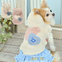 CRAZYBOO/クレイジーブースイーツ柄起毛パーカXS/S/M/Lサイズオフホワイト/ピンク犬服/犬の服/ドッグウェアあったか秋冬コレクション小型犬