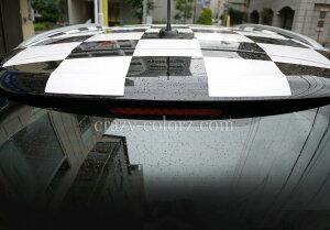 BMWMINIクロスオーバー&カントリーマンR60ルーフチェッカーフラッグチェックデカールステッカーカスタムオートパーツcustomautopartscheckchecker