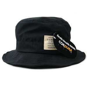 大きいサイズ 帽子 BIGWATCH正規品 コーデュラナイロン ハット XL メンズ L XL ハット 黒 ブラック サファリ ワイヤー フェスハット ビッグワッチ HA-26 春 夏 秋 UVケア バケットハット