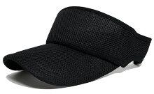 大きいサイズ帽子メンズ無地ラウンドメッシュサンバイザーBIGWATCH