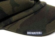 大きいサイズ帽子メンズカモ柄ターバンバイザーBIGWATCH