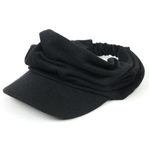 大きいサイズ メンズ 帽子 L XL ターバンバイザーBIGWATCH ブラック 黒 ビッグワッチ サンバイザー 帽子 ターバン ヘアバンド ビッグサイズ BIGWATCH正規品 STB-07