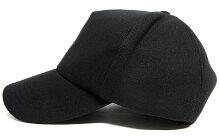 大きいサイズ帽子メンズ無地スウェットキャップBIGWATCHブラック