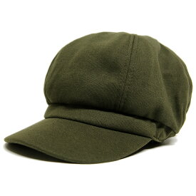 大きいサイズ メンズ 帽子 L XL スウェット ビッグキャスケットBIGWATCH カーキ(緑) グリーン ビッグワッチ つば付帽子 Lサイズ CAS-17 春 夏 秋 UVケア