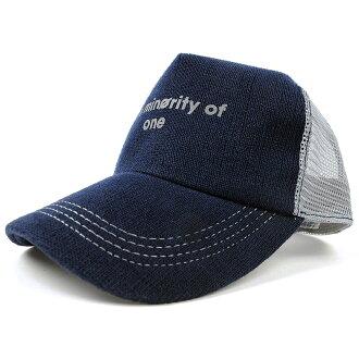 沒有大的大小 / 帽子 / 麻帽帽 BIGWATCH 靛藍藍色 (藍色) / 灰色網帽 / 大大表損壞處理 / 05P05Dec15