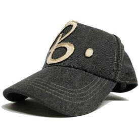 大きいサイズ メンズ 帽子 L XL コットンキャップワッペン BIGWATCHビックワッチ グレー グレーB キャップ 帽子 CPB-01 春 夏 秋 UVケア
