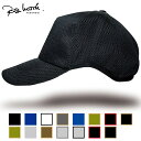 送料無料 帽子 メンズ 大きいサイズ L XL ゴルフ 無地ラウンド メッシュキャップ BIGWATCH 黒ブラック ビッグサイズ ビッグワッチ スポ…