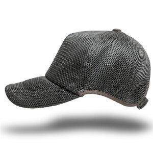 帽子 大きいサイズ L XL ゴルフ 無地ラウンド メッシュキャップ BIGWATCH グレー ビッグサイズ ビッグワッチ スポーツキャップ ウォーキング ランニング CPMG-04R 春 夏 秋 UVケア