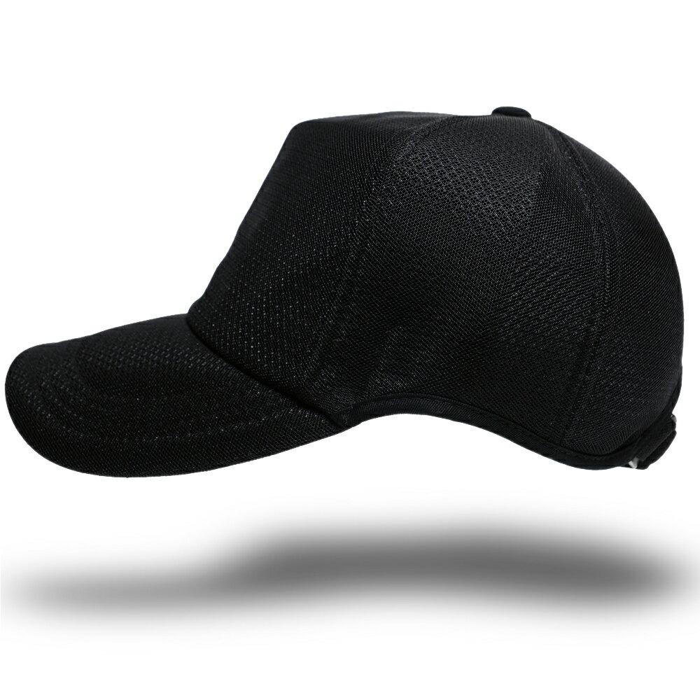帽子 メンズ 大きいサイズ L XL 無地ラウンド メッシュキャップ BIGWATCH オールブラック 黒 ゴルフ ビッグサイズ ビッグワッチ スポーツキャップ ウォーキング ランニング CPMG-10R