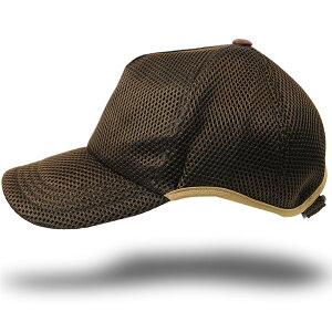 帽子 大きいサイズ L XL ゴルフ 無地ラウンド メッシュキャップ BIGWATCH ブラウン ビッグサイズ ビッグワッチ スポーツキャップ ウォーキング ランニング CPMG-12R 春 夏 秋 UVケア