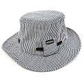 大きいサイズ帽子メンズヒッコリーハットBIGWATCH