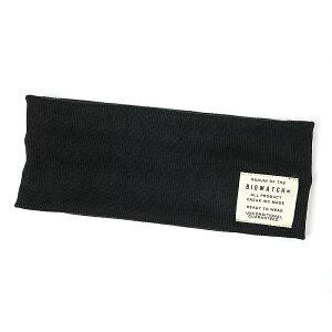 大きいサイズ メンズ 帽子 L XL ヘアバンド BIGWATCH ブラック 黒 カチューシャ ターバン 帽子 ビッグサイズ ビッグワッチ BIGWATCH正規品 HB-01 春 夏 秋 UVケア