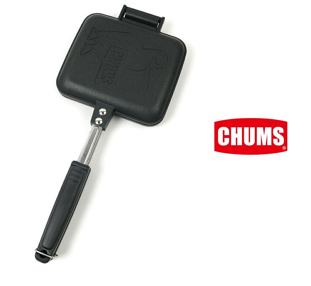 チャムス/CHUMSホットサンドウィッチクッカー/ホットサンド/フライパン/フッ素樹脂加工/アウトドア/キャンプピクニック/CH62-1039