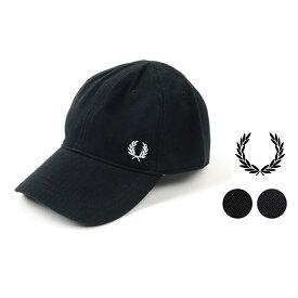 フレッドペリー ピケクラシックキャップ FREDPERRY 帽子 キャップ メンズ コットンキャップ ワンポイント 刺繍 HW3650