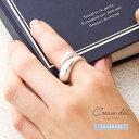 【ゆうパケット送料無料】選べる2タイプ リング 指輪 シルバー925 silver925 レディース フリーサイズ 15号 ファッシ…
