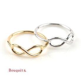 【ゆうパケットOK】リング 指輪 インフィニティ モチーフ レディース 重ね着け ゴールド シルバー 華やか 結婚式