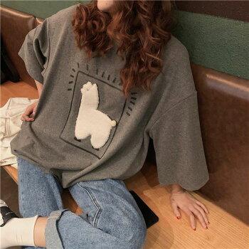 【9月下旬順次出荷予定】アルパカゆるシャツ