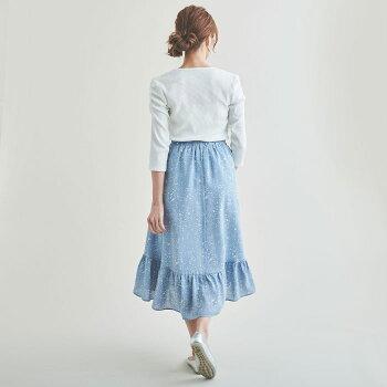 ドット柄フィッシュテールスカートスカートフィッシュテールスカートフィッシュテールドットドット柄ドット柄スカートレディースおしゃれかわいいフェミニン