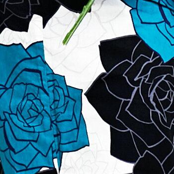 【VERYモデル◆畑野ひろ子】浴衣セットレトロ浴衣セット白白地浴衣+帯半幅帯+下駄+他8点セット大人レディースゆかた古典柄古典モダン浴衣帯黄緑パステルカラーパステルピンクオレンジ水色青薔薇バラ絞り和服レディースファッション激安