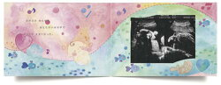アルバムエコー写真10ツキ10カものがたりmongobessエコー写真アルバムがんばったママとベビーに贈る誕生の物語ベビー出産出産祝いベビーシャワーベビーギフトラッピング無料