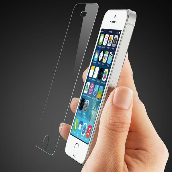 【送料無料 メール便発送】 iPhone SE / iPhone 5 / iPhone5S / iPhone5C ブルーライトカット 90% 液晶保護ガラスフィルム 【0.33mm 2.5D 保護フィルム ガラス 液晶保護シート 強化ガラス iPhone5 ケース iPhone用 アクセサリー】