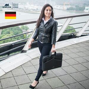 ドイツデザイン ビジネスバッグ 15.6 インチ ノートパソコン バッグ 肩掛け ノートPC ケース 薄型 13.3 スリム コンパクト スタイリッシュ 男女兼用 レディース 2way B5 A4 おしゃれ 通勤 通学 テレ