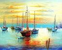 大人の塗り絵 絵画 油絵塗り絵 数字塗り絵 油絵風 漁船 名画 【油絵】アクリル絵の具 塗り絵 大人 油絵 油絵セット キャンバス 壁デコ …