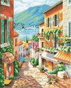 大人の塗り絵 絵画 数字塗り絵 油絵風 小町風景 名画 【油絵】アクリル絵の具 塗り絵 大人 油絵 油絵セット キャンバス 壁デコ 塗り絵…