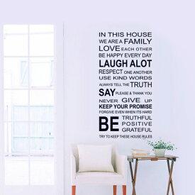 キャッシュレス 5%還元 ウォールステッカー モノトーン 文字 英文(family)北欧 おしゃれ 窓 ガラス に 貼る シール ウォール ステッカー オシャレ カフェ風 ウォールデコ ウォールシール 壁飾り はがせる 壁シール 英字 ウォールステッカーCreative Style