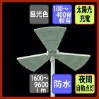 ソーラーパネルセンサー付き15w2250lm太陽光LED夜間自動点灯昼光色