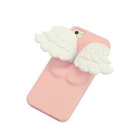 天使の羽 iPhone5専用ケース カバー 天使が 羽根とかわいいお尻を付けたスマホケースになって登場! スマートフォンケース iPhone5