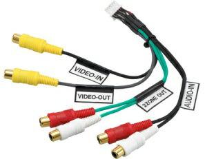 クラリオン CCA-657-500 ナビ用ビデオ入力/出力ケーブル