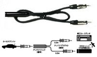 東光特殊電線 ENDY EVC-2802 ラジオアンテナ分配ケーブル(0.2m)