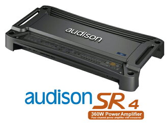 AUDISON O日損失SR4規格輸出65W×4ch立體聲功率放大器