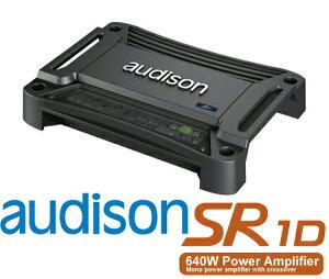 【5/9-5/16はP2倍】AUDISON オーディソン SR1D 定格出力460W×1chモノラル サブウーファーパワーアンプ