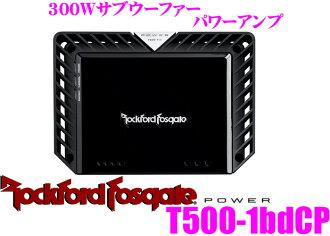 RockfordFosgate 락 포드 POWER T500-1 bdCP정격 출력 300 W단청의 서브우퍼 파워업